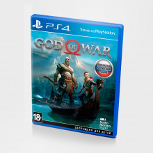 Б/У игра God of War для PS4