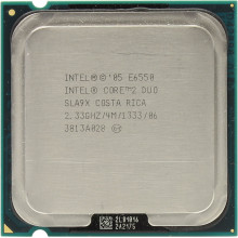 Б/У процессор для ПК Intel Core 2 Duo E6550 (2 330 MHz, Socket LGA775)