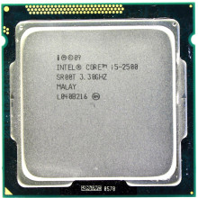 Б/У процессор для ПК Intel Core i5-2500 (3 300 MHz, Socket 1155)